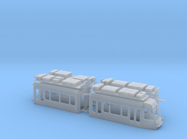 Braunschweig Tramino in Smooth Fine Detail Plastic: 1:120 - TT