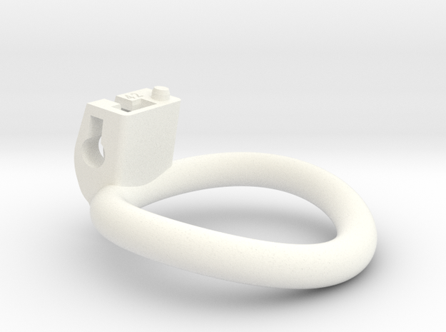 Cherry Keeper Ring - 42mm in White Processed Versatile Plastic