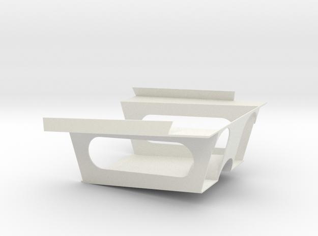 A4 CELLULE CARF (A) in White Natural Versatile Plastic