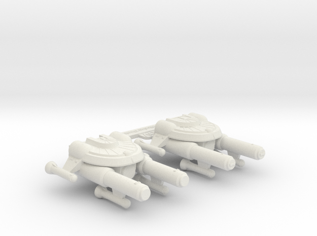 3125 Scale Seltorian Light Carrier Group MGL in White Natural Versatile Plastic