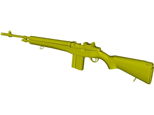 1/16 scale Springfield Armory M-14 rifle x 1