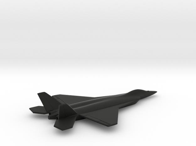 TAI TF-X (Turkish Fighter - Experimental) in Black Natural Versatile Plastic: 1:200