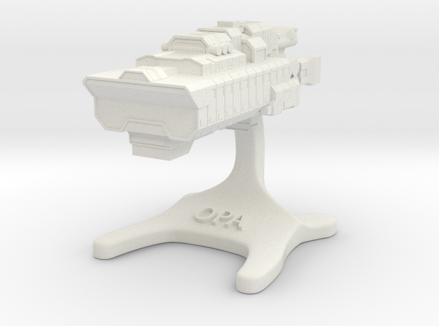 Canterbury: The Expanse Board Game [30mm] in White Natural Versatile Plastic