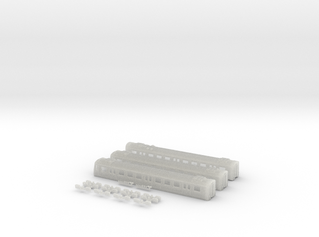 E44 Bodies - N - 1:160 in Smooth Fine Detail Plastic