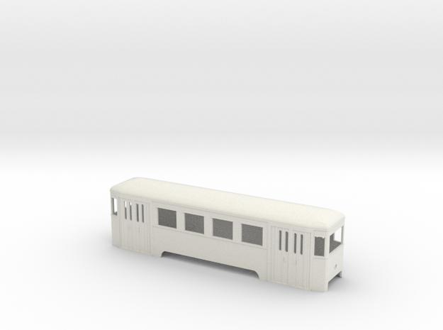 n2 Wiener Stadtbahn Beiwagen mit Lichtöffnung in White Strong & Flexible