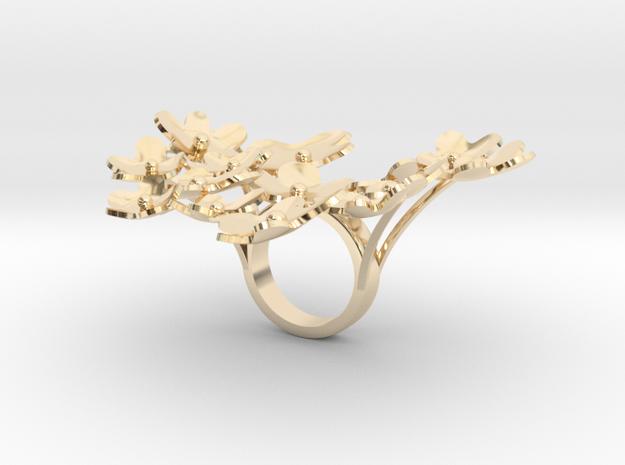 floraflori smaller in 14k Gold Plated Brass