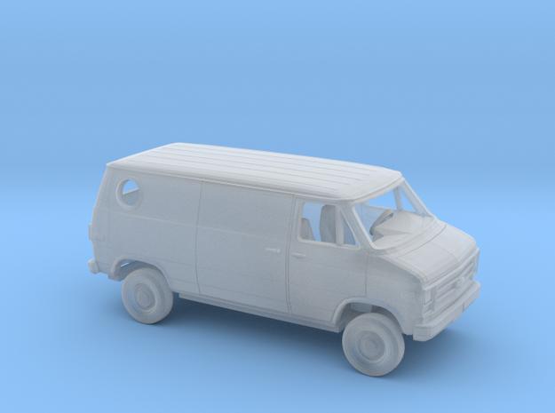 1/160 1979-83 Chevrolet G Custom Van in Smooth Fine Detail Plastic