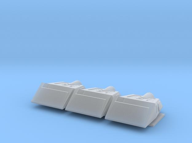 1/350 TMP Shuttlecraft Three Pack in Smooth Fine Detail Plastic