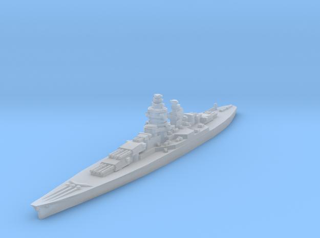 Alsace battleship 1/2400 in Smooth Fine Detail Plastic