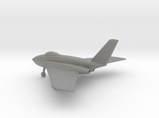Northrop X-4 Bantam in Gray PA12: 1:100