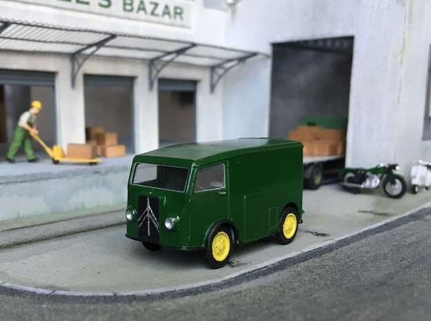 1:87 Citroen TUB 1939 in Smooth Fine Detail Plastic