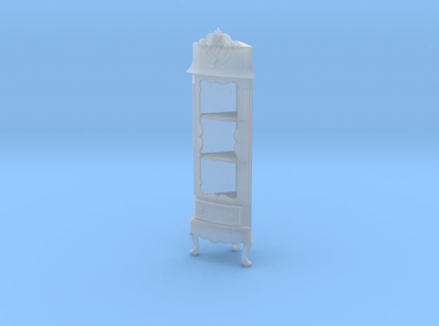1:48 Nob Hill Corner Cabinet in Smooth Fine Detail Plastic