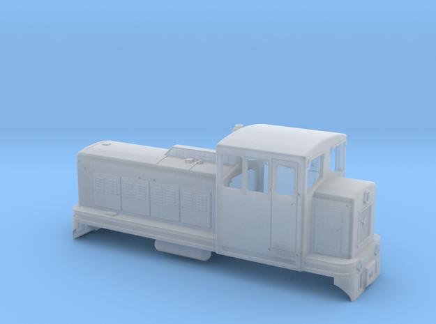 TU4 locomotive in H0e scale in Smooth Fine Detail Plastic