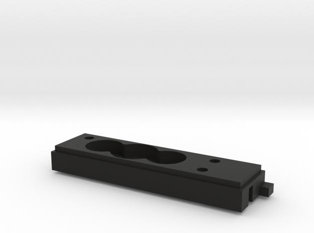 TZK007B Toyzuki reverse rotation Transfer Case B in Black Natural Versatile Plastic