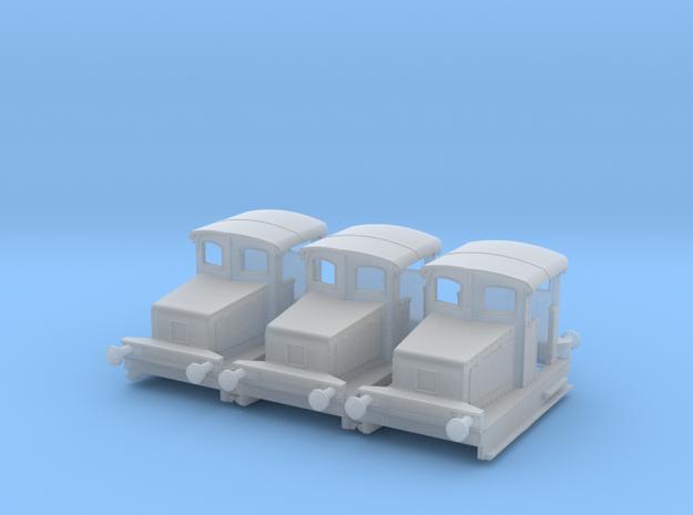 b-160fs-gaston-moyse-8t-loco in Smooth Fine Detail Plastic