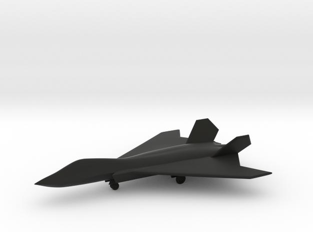 BAE Systems Tempest (w/Landing Gear) in Black Natural Versatile Plastic: 1:200