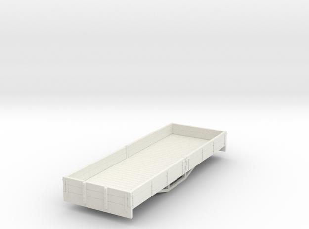 OO9 2 plank bogie dropside wagon (short) 3d printed