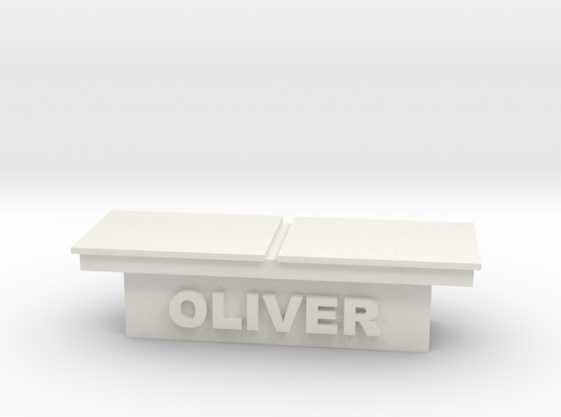 1/64 truck toolbox oliver in White Natural Versatile Plastic