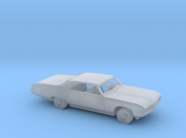 1/160 1970 Chrysler 300 Kit in Smooth Fine Detail Plastic