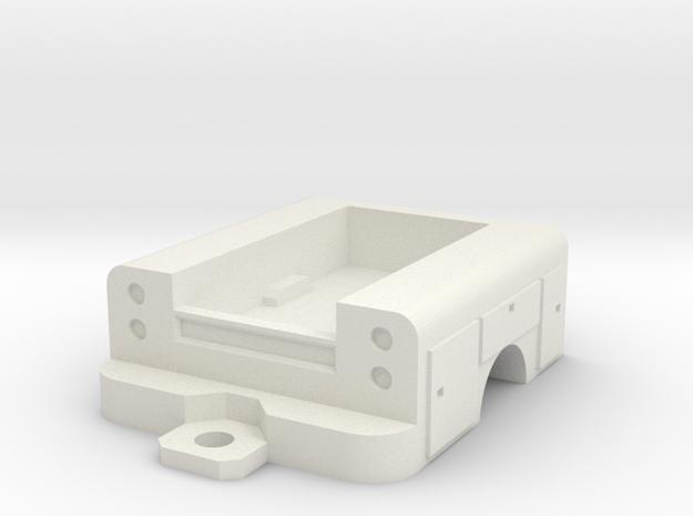 1/64 scale 1/2 ton body  in White Natural Versatile Plastic