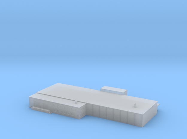 1:700 Scale Shopping Mall (small version) in Smooth Fine Detail Plastic