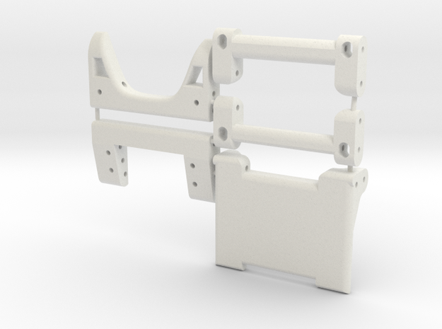 Team Edition Brace Kit in White Natural Versatile Plastic