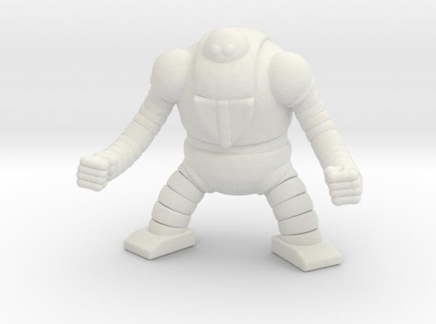 Mazinger Boss Robot Mech Miniature for games rpg in White Natural Versatile Plastic