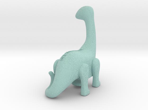 Brontosaurus in Natural Full Color Sandstone