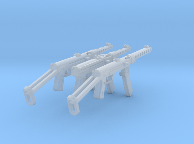 1:16 PPS-42/PPS-43 Submachine Gun Family in Smooth Fine Detail Plastic