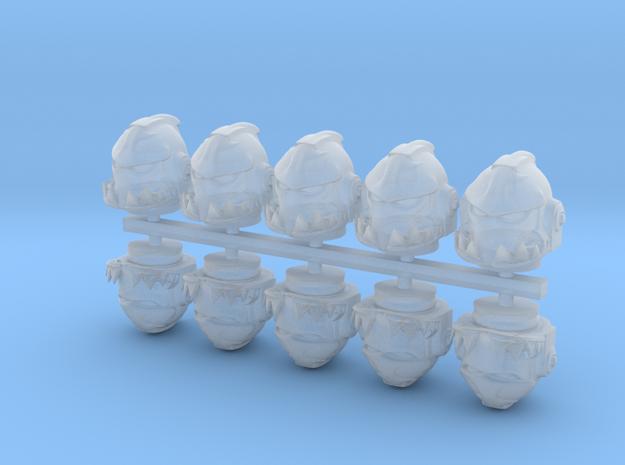 space helmet mk-shark x10 in Smooth Fine Detail Plastic
