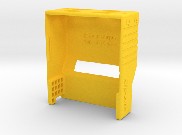 Chameleon 64 - Docking Station v1 Housing (body) in Yellow Processed Versatile Plastic