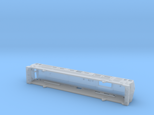 1:160 ST46 Body - PKP CARGO - BLUE in Smooth Fine Detail Plastic