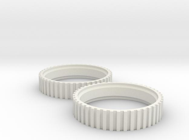 Roomba Wheels For All Models (500, 600, 700, 800,  in White Natural Versatile Plastic
