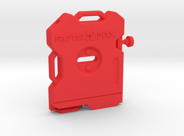 RotoPax Scale Gas Can 1\10 in Red Processed Versatile Plastic: 1:10