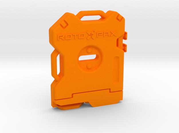 RotoPax Scale Medkit Pack 1:10 in Orange Processed Versatile Plastic: 1:10