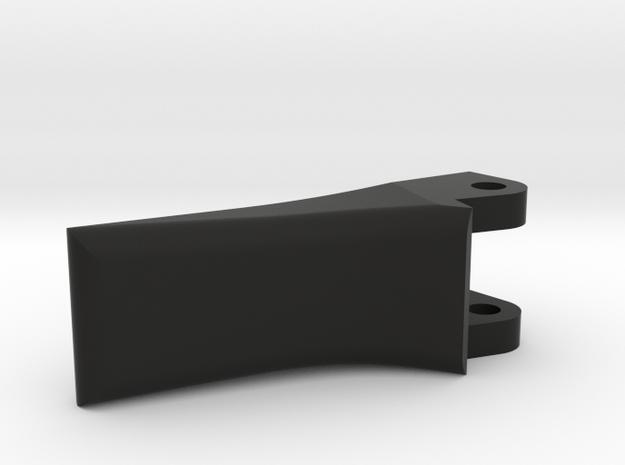 King Arms SLR (FAL) folding charging handle in Black Natural Versatile Plastic