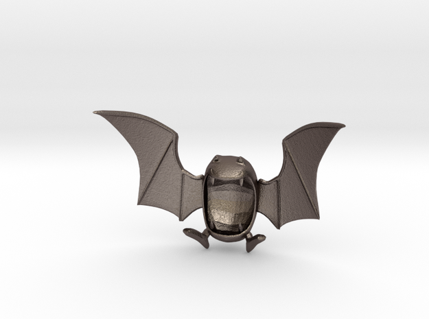 Golbat Bottle Opener in Polished Bronzed Silver Steel