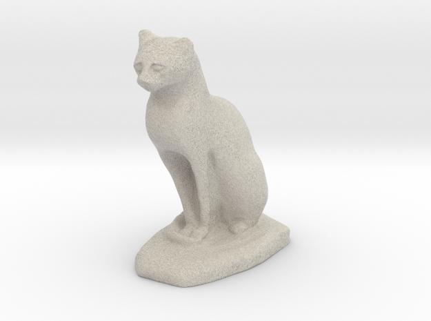 Egypt cat in Natural Sandstone