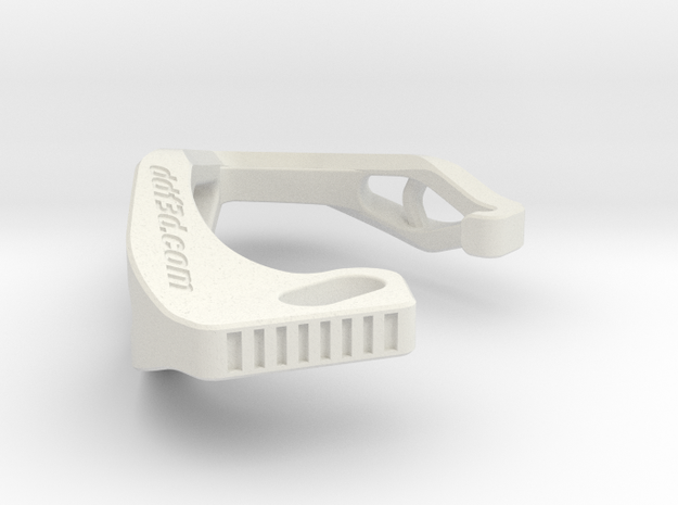 ONLY_FOR_FL-F[84]_Cobra X Carabiner *Large* DH002S in White Natural Versatile Plastic