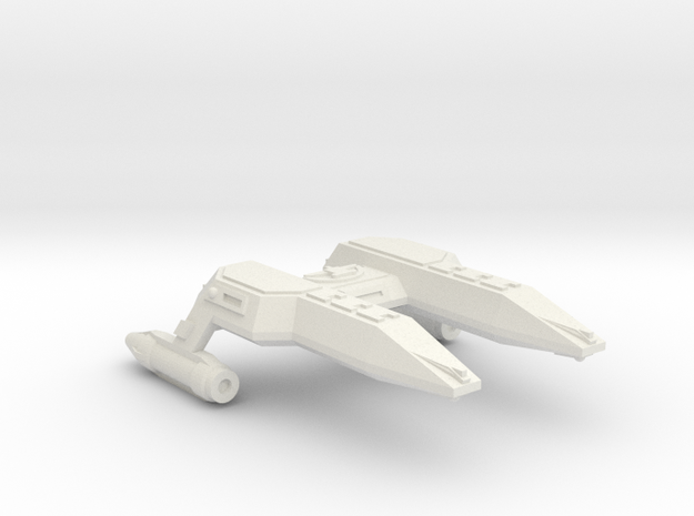 3125 Scale Lyran Local Defense Frigate (LFF) CVN in White Natural Versatile Plastic