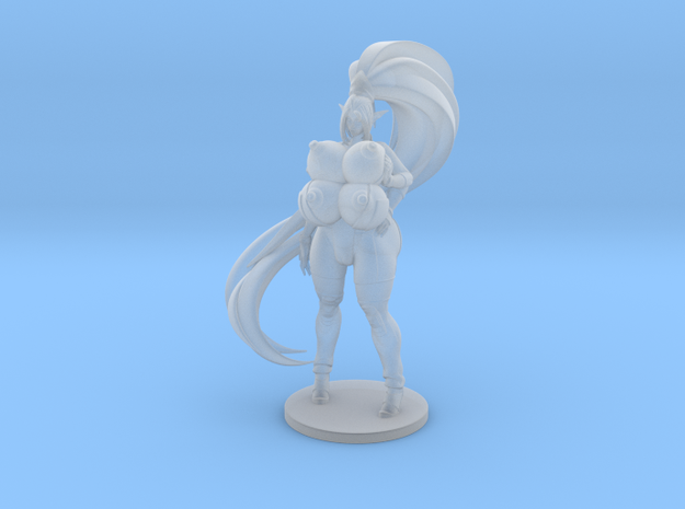 Kira Pinup 71mm in Smoothest Fine Detail Plastic