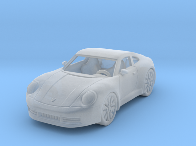 Porsche 911 Carrera S 2020  1:120 TT in Smooth Fine Detail Plastic