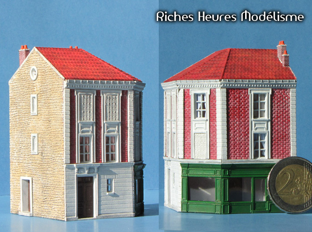 HOus10e - Old factory in Smooth Fine Detail Plastic
