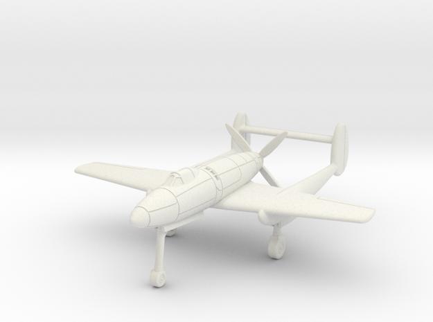 (1:144) Mansyū Ki-98 (Gear down) in White Natural Versatile Plastic