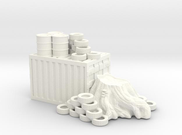 small container in White Processed Versatile Plastic