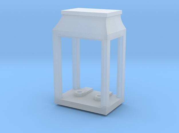 Wall Double Lantern (0.089in Holes) in Smooth Fine Detail Plastic