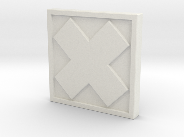 TheX in White Natural Versatile Plastic