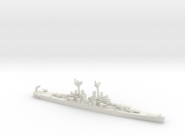 US Baltimore-Class Cruiser w/ Regulus Missile (V1) in White Natural Versatile Plastic: 1:1800