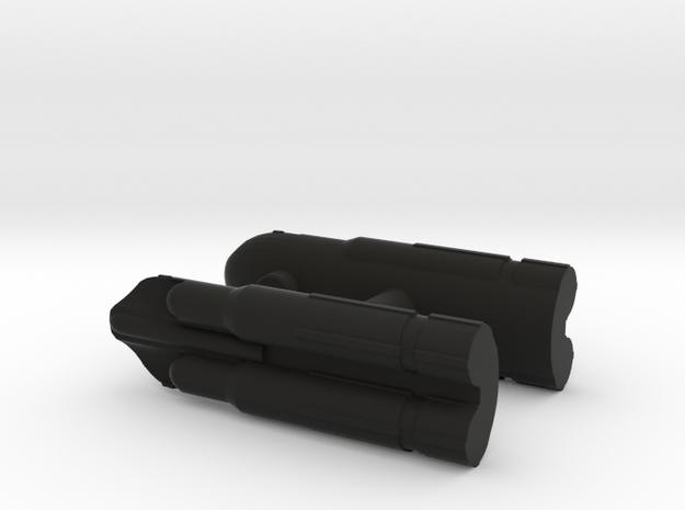 Gunrunner Missiles in Black Natural Versatile Plastic