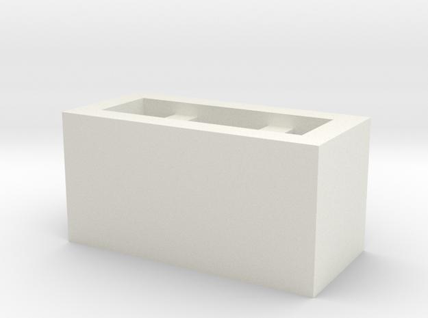 BOSS DC-2 Dimension C Knob in White Natural Versatile Plastic